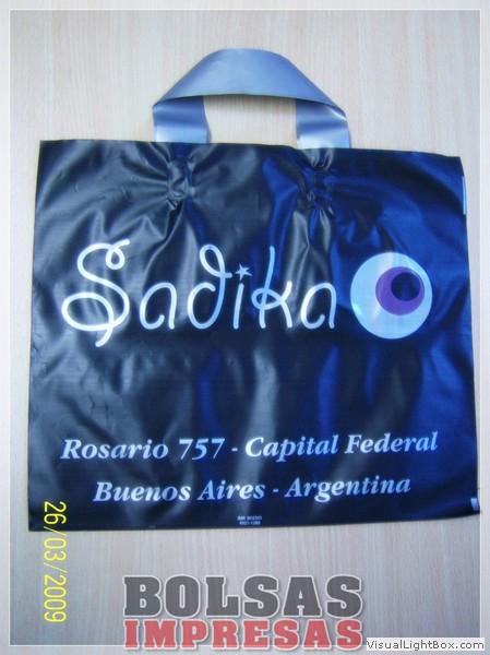 3eebf5c94 BOLSAS CON ASA IMPRESAS 011 4956-0229